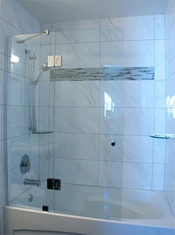 Frameless Shower Doors Designer Series 7