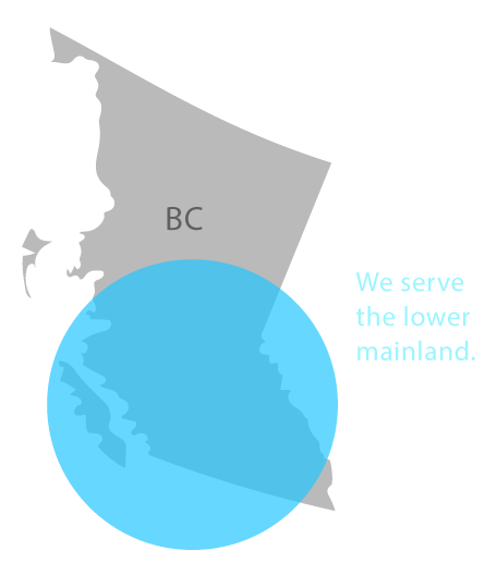 client service map in bc