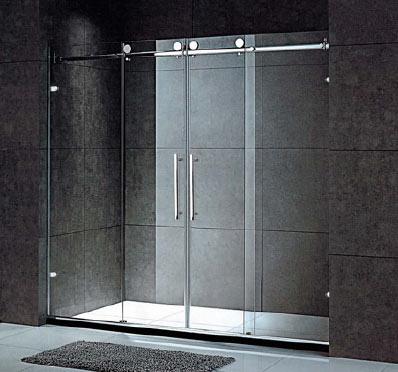 frameless shower door 2