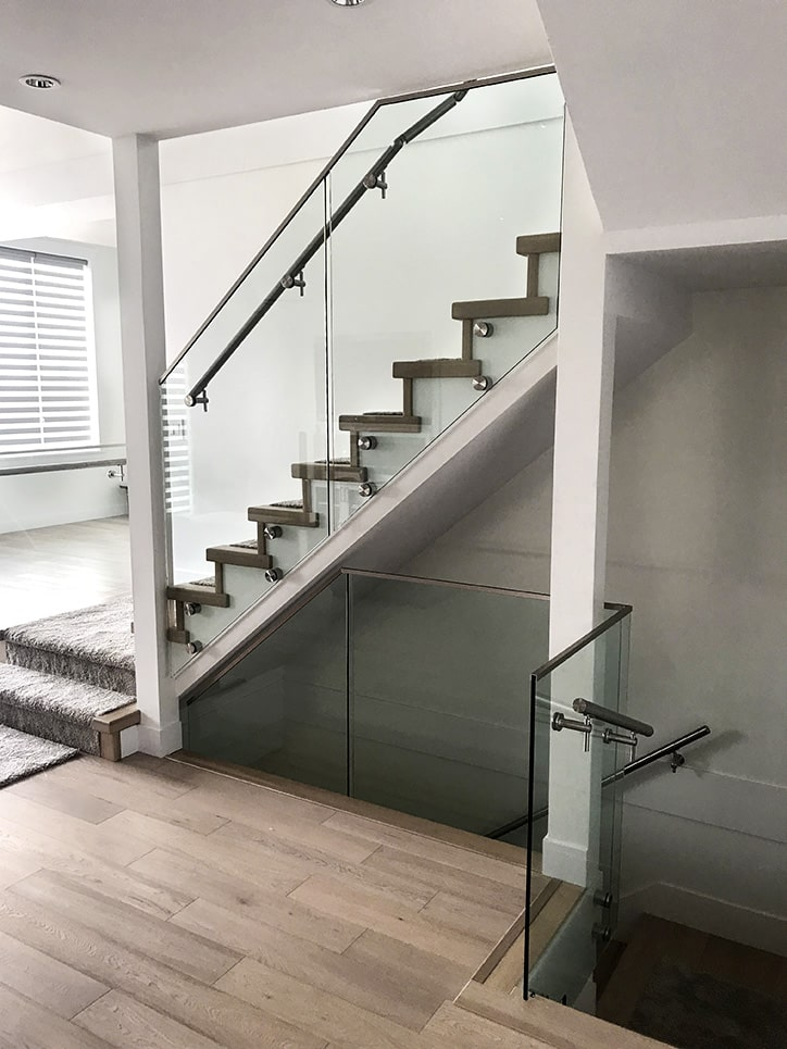 glass railing from delta glass