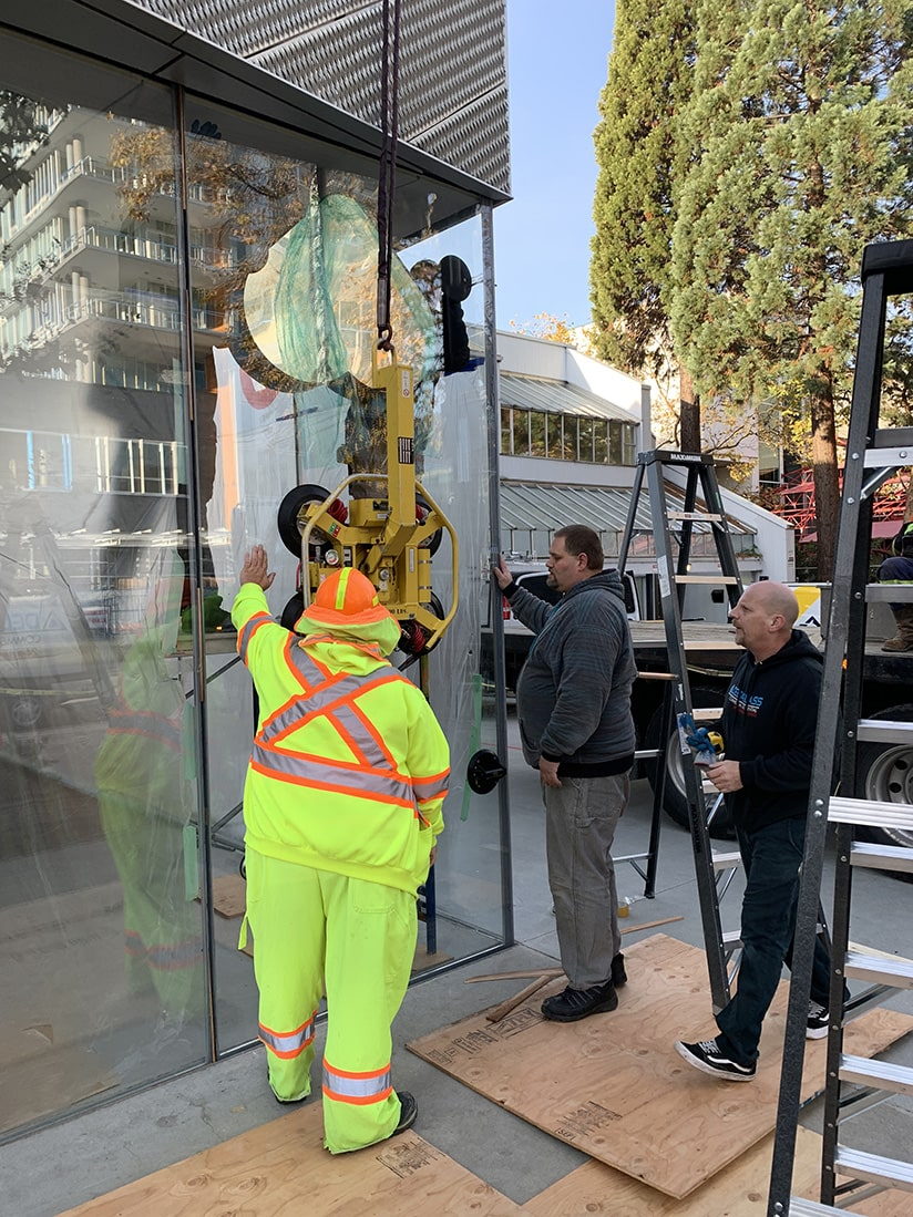 high risk commercial glass installations