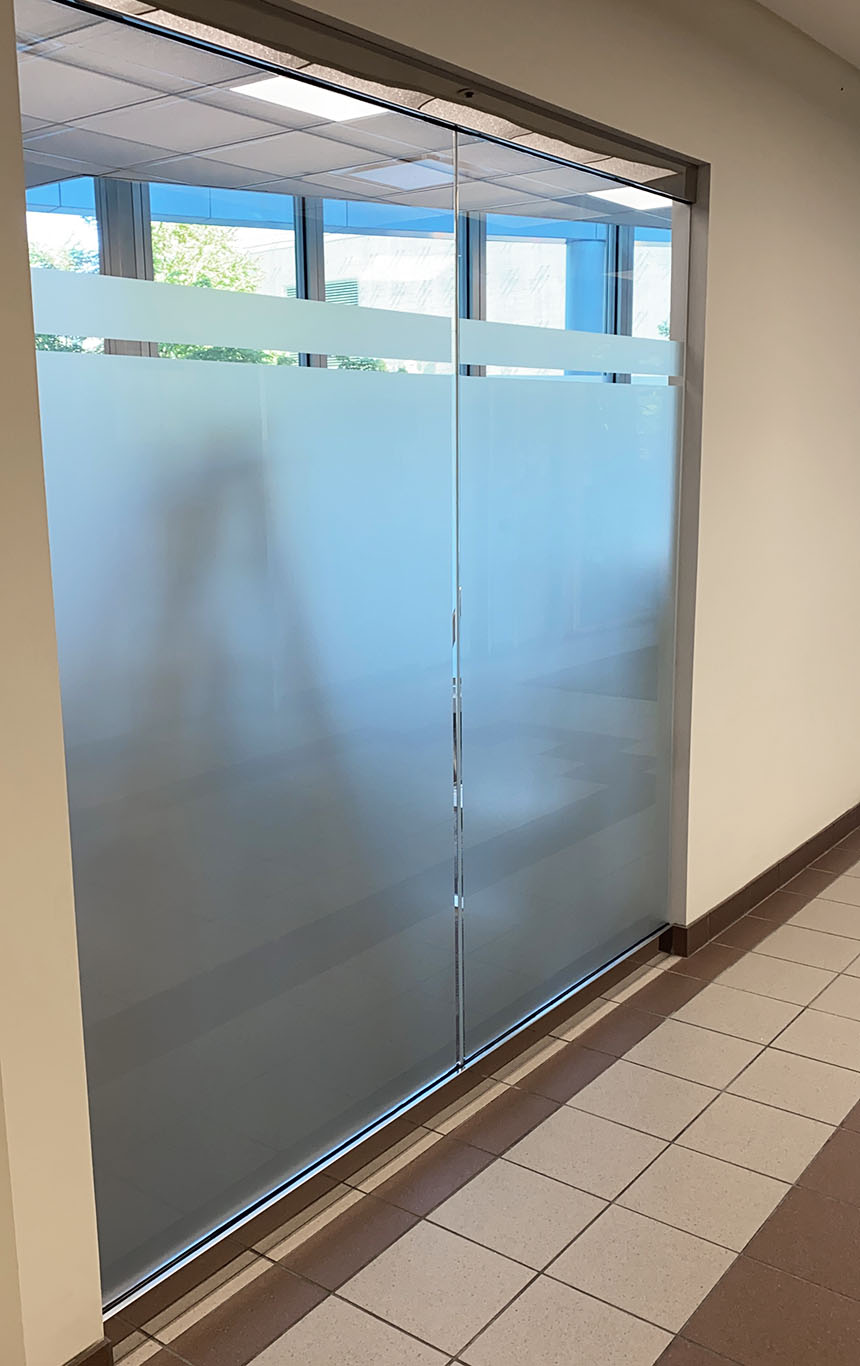 office glass wall project