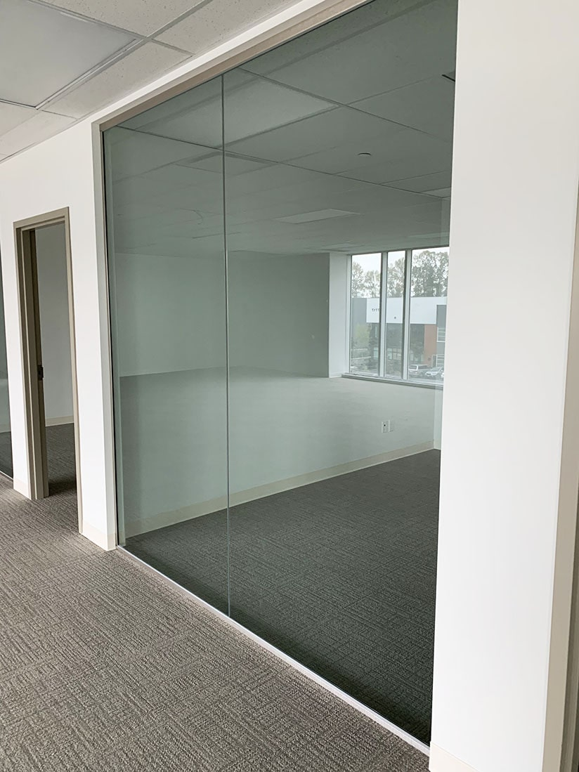 commercial office partition project