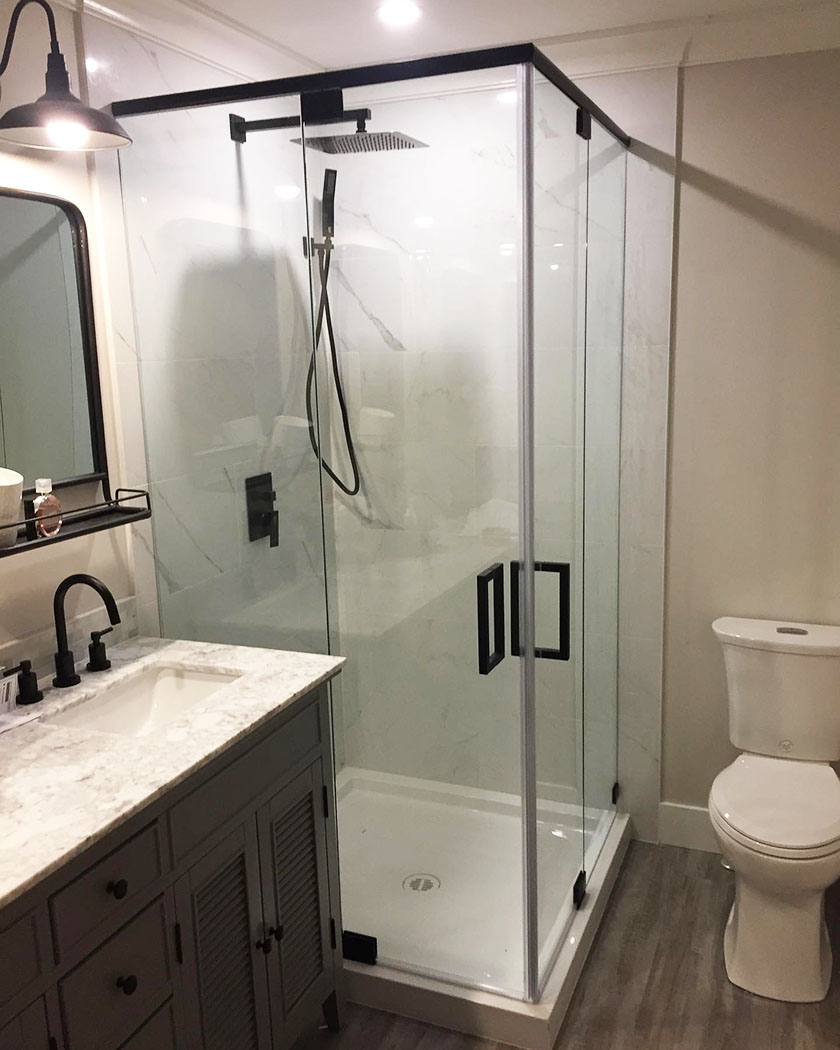 residential shower project