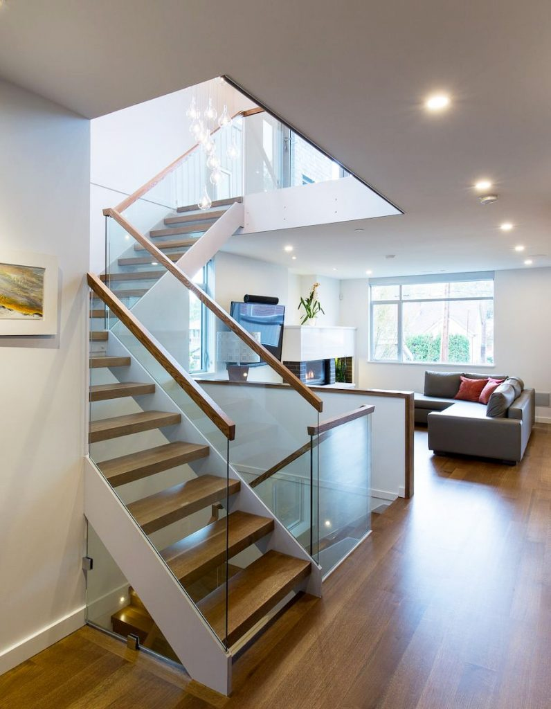 residential glass railing project