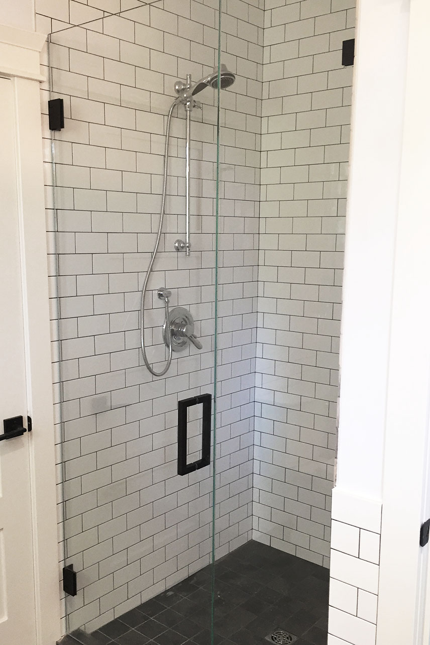 residential shower hardware