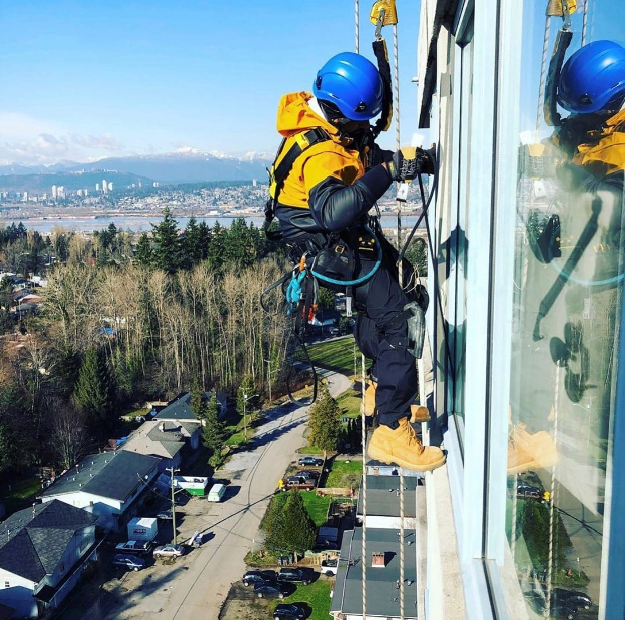 rope tech for high rise